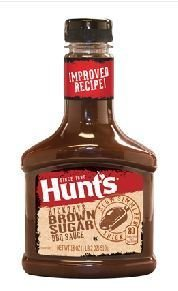 HICKORY & BROWN SUGAR BARBECUE SAUCE HUNT'S 510 G.