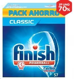 CLASSIC DISHWASHER TABLETS FINISH 57 TABLETS.