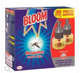 INSECTICIDE CONTINUOUS ANTIMOSQUITOS COMMON AND TIGER BLOOM 2 SPARE PARTS.