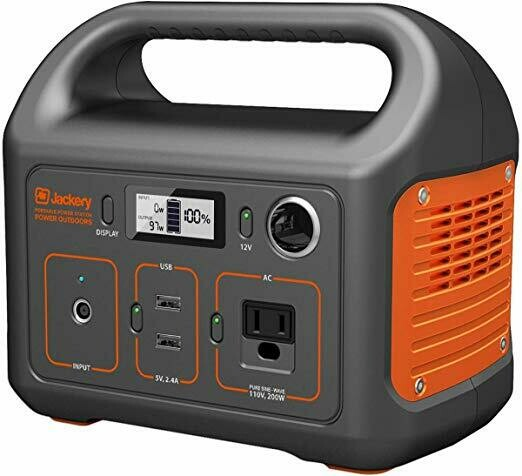 Jackery 250Wh Portable Power Station