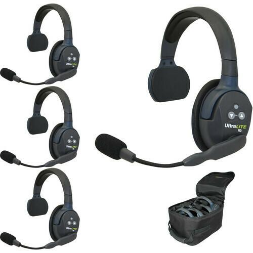 Eartec Headsets (Set of 4)