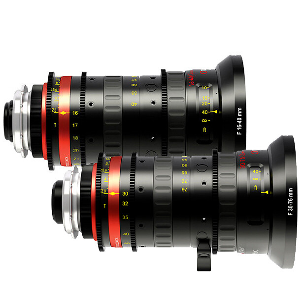 Angenieux Zoom Set 16mm-40mm & 30mm-76mm