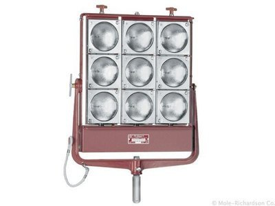 9-Light Molefay (5850W) Tungsten