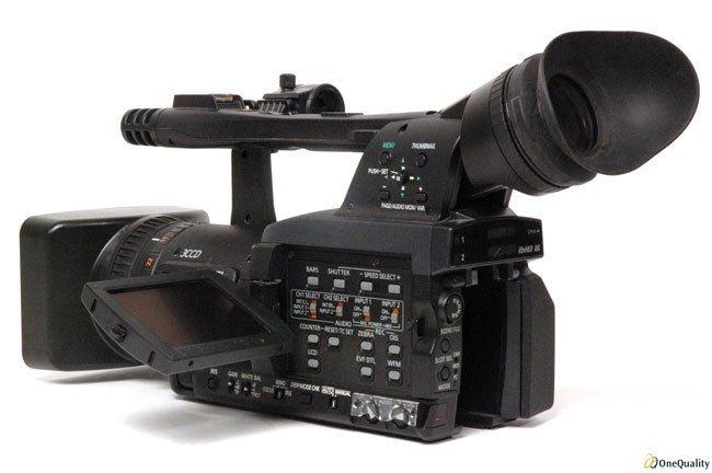 Panasonic HPX170P P2 HD Handheld Camcorder Package