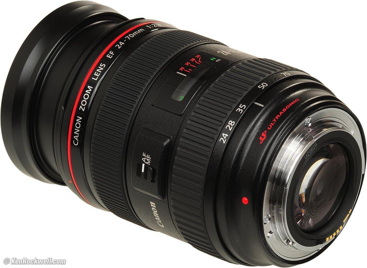 Canon 24-70mm 2.8L EF Mount Zoom Lens
