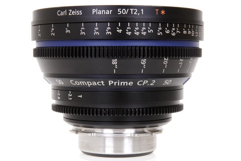 Zeiss Compact Prime CP.2 Canon EF Mount 50mm T1.5 (Feet) Super Speed