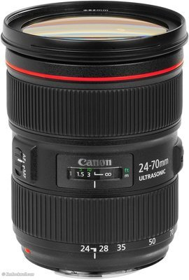 Canon 24-70mm f2.8 EF Zoom Lens