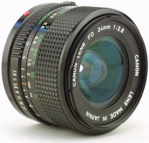 Canon FD Mount -24mm @52mm ring