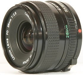 Canon FD Mount -28mm @52mm ring