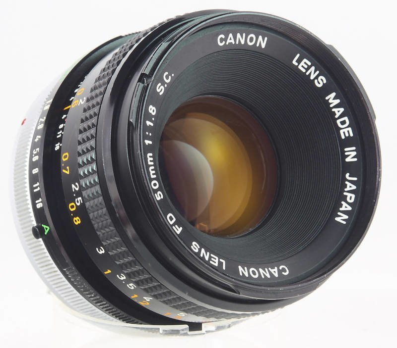 Canon FD Mount -50mm @52mm ring