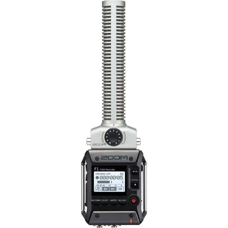 Zoom F1-SP Field Recorder + Shotgun Mic