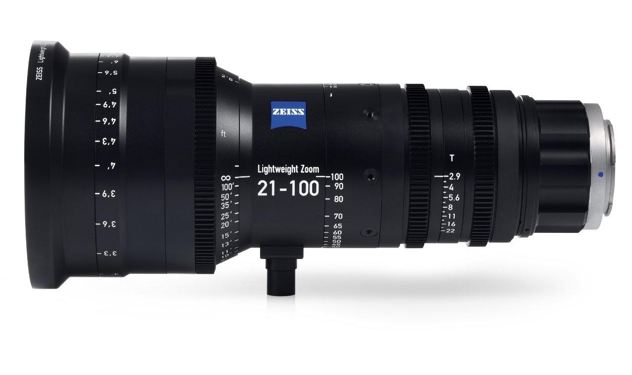 Zeiss Lightweight Zoom Lens 21-100mm/T2.9-3.9 - PL Mount