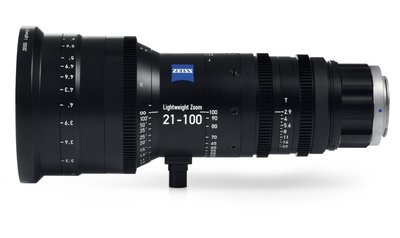 Zeiss Lightweight Zoom Lens 21-100mm/T2.9-3.9 - PL Mount