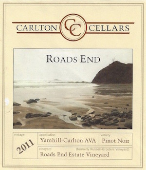Special - 3 Pack 2011 Roads End Pinot Noir