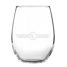 Stemless Logo Glass