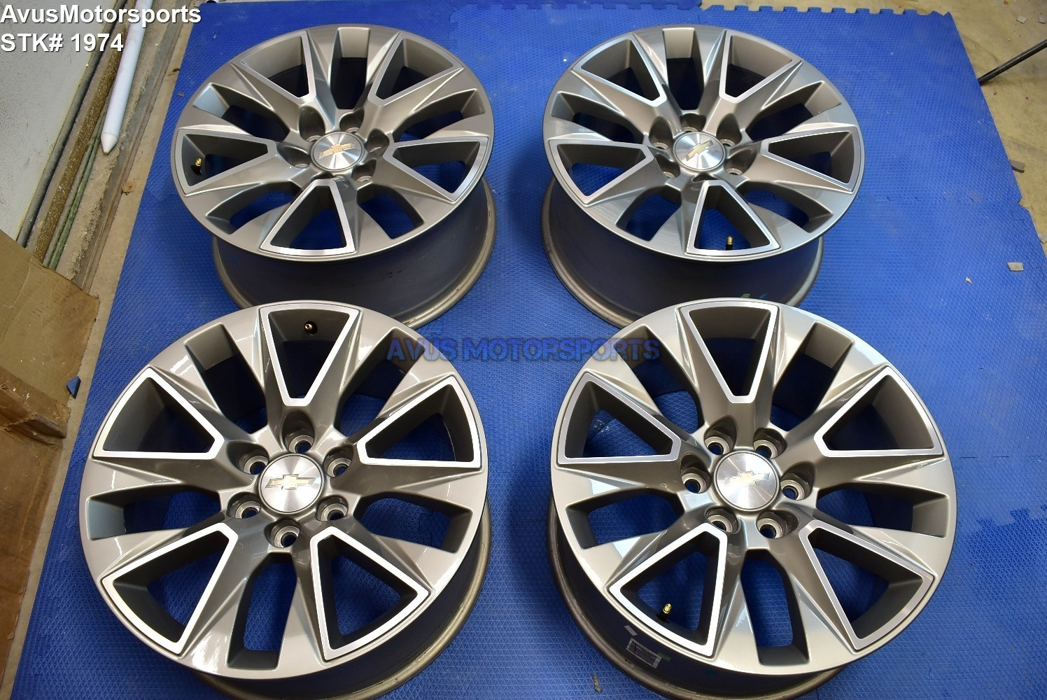 "20"" Chevrolet SILVERADO High Country OEM FACTORY WHEELS TAHOE 1500 GMC Sierra"