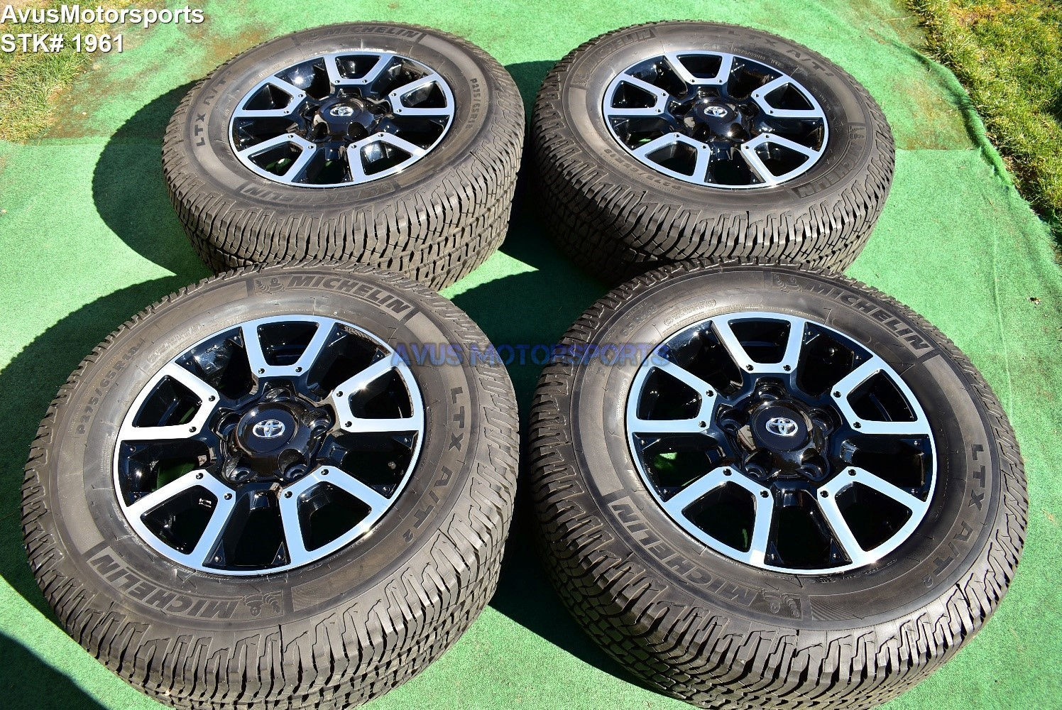 """18"""" Toyota Tundra Off Road OEM Factory Wheels Tires TRD offroad Sequoia"""