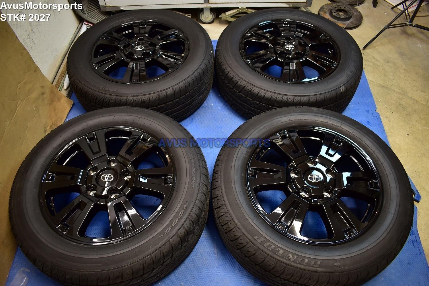"20"" Toyota Sequoia TRD Sport OEM Wheels Tires Tundra Land Cruiser Lx570 2019"