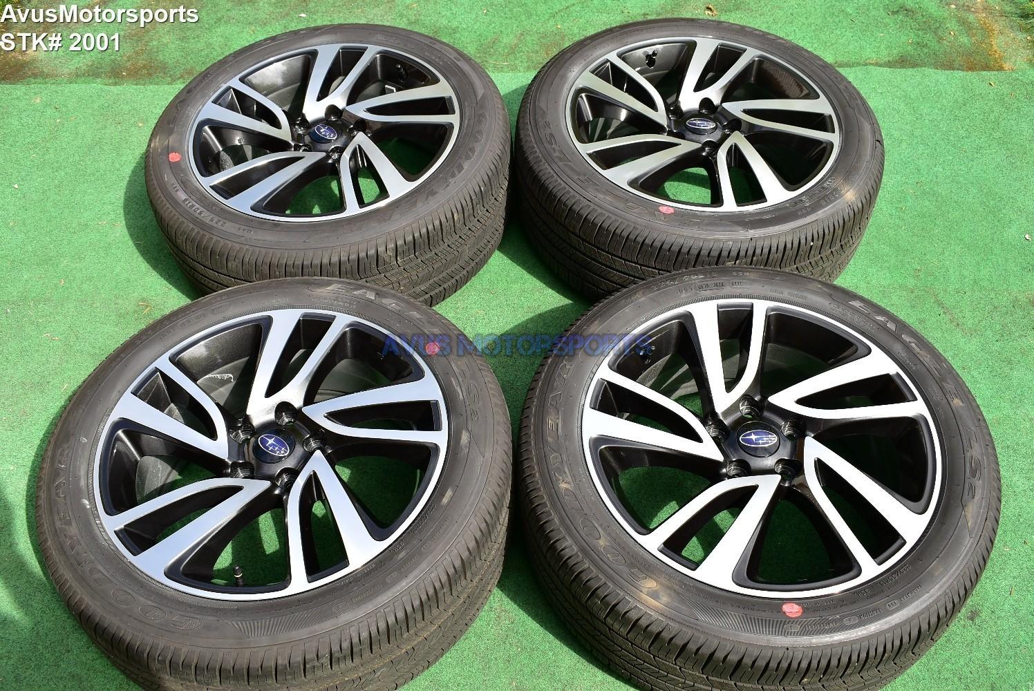 subaru legacy sport oem 18 factory wheels tires 225 50r18 2019 2016 2017 2018 subaru legacy sport oem 18 factory wheels tires 225 50r18 2019 2016 2017 2018