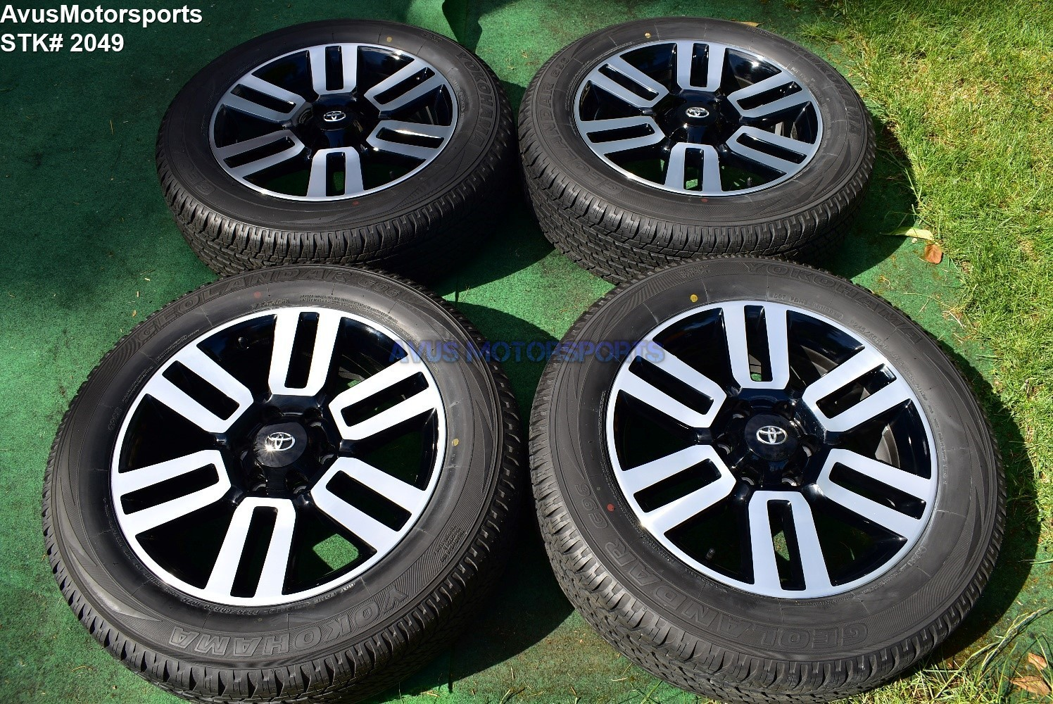 """20"""" TOYOTA 4RUNNER Limited 2018 2017 OEM FACTORY WHEELS TIRES Tundra Tacoma"""