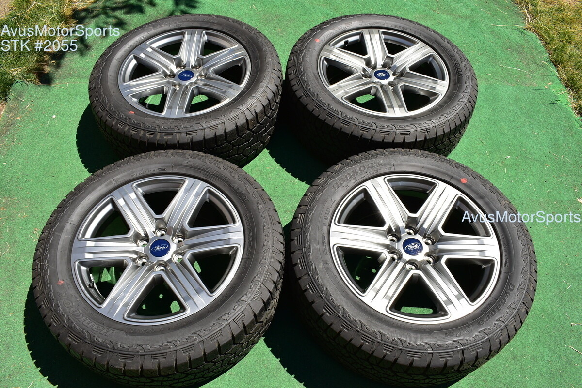 """20"""" Ford F150 OEM Factory FX4 XLT Lariat Wheels Tires Expedition 2017 2018"""