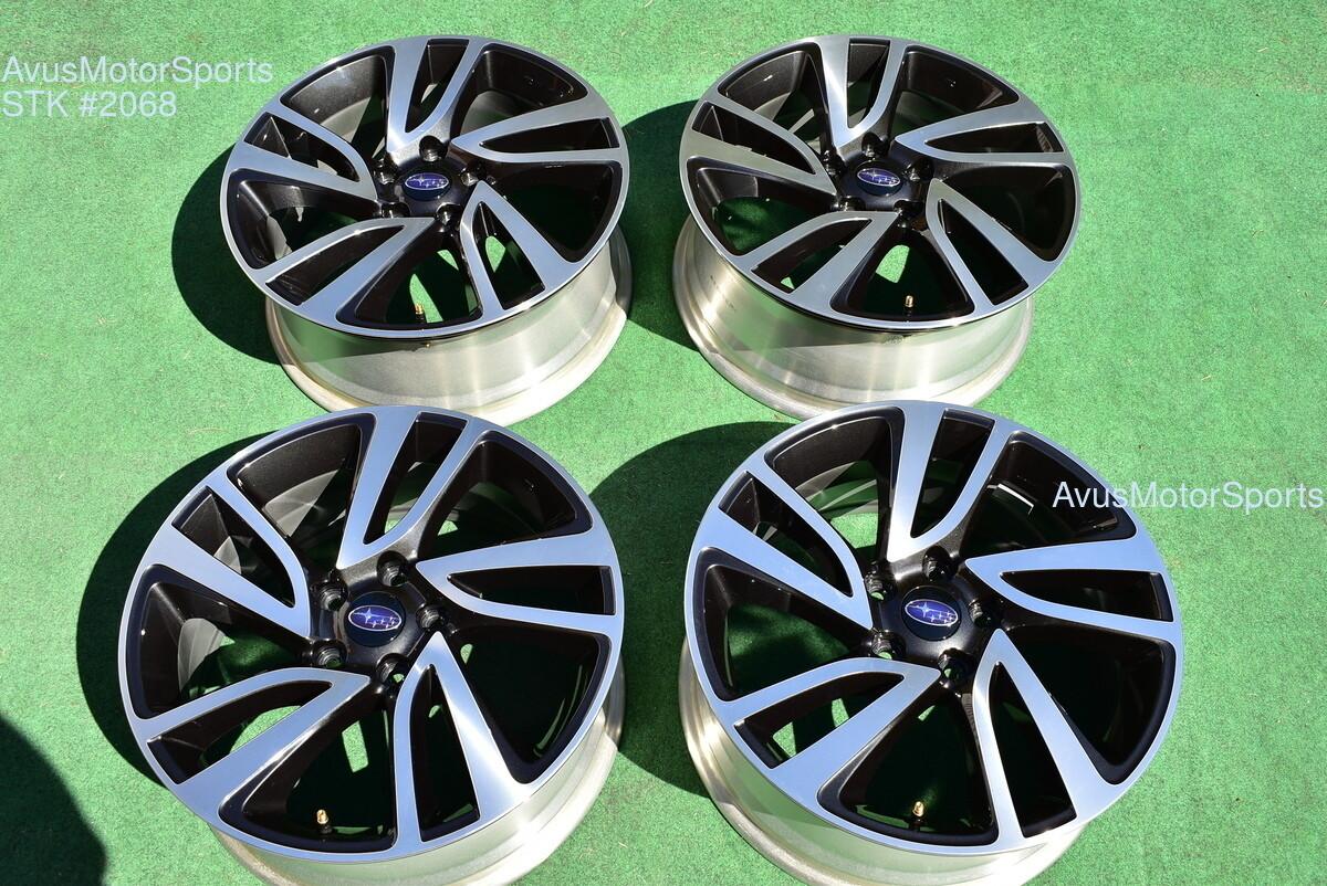 "Subaru Legacy Sport OEM 18"" Factory Wheels Outback 2019 2016 2017 2018 5x114"