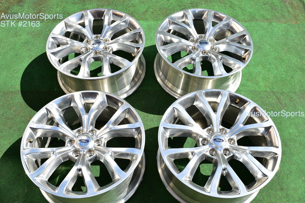 """22"""" Ford Expedition Platinum MAX OEM Factory Wheels F150 Limited 2019 2017 2018"""