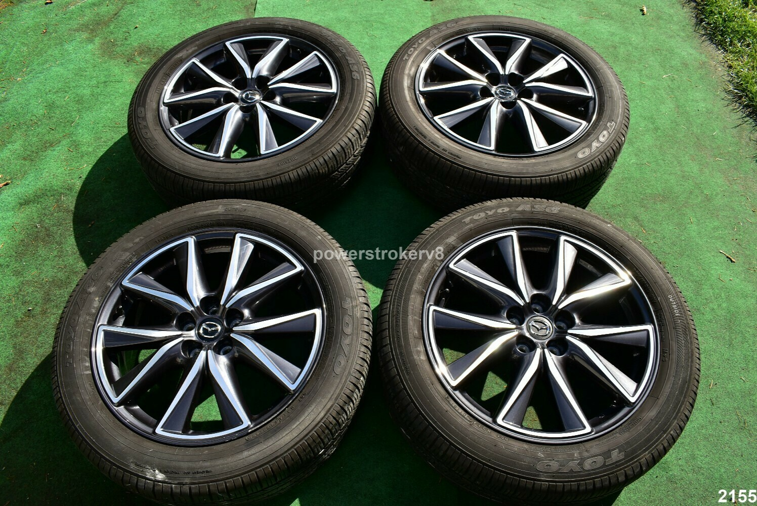 """19"""" Mazda CX-5 OEM Factory Wheels and Toyo Tires  p225/55r19 CX5 2017 2018"""