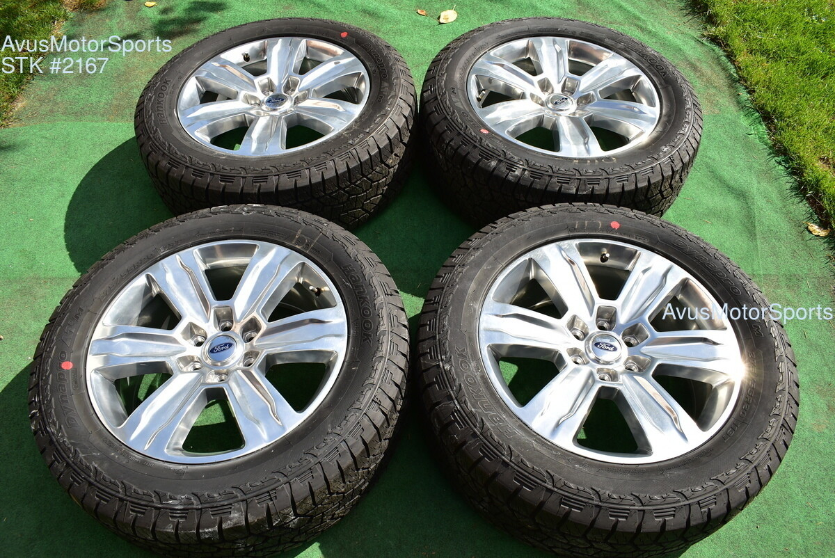 "20"" Ford F150 OEM Factory Platinum Wheels Tires Expedition 2017 2018 2019 + TPMS"