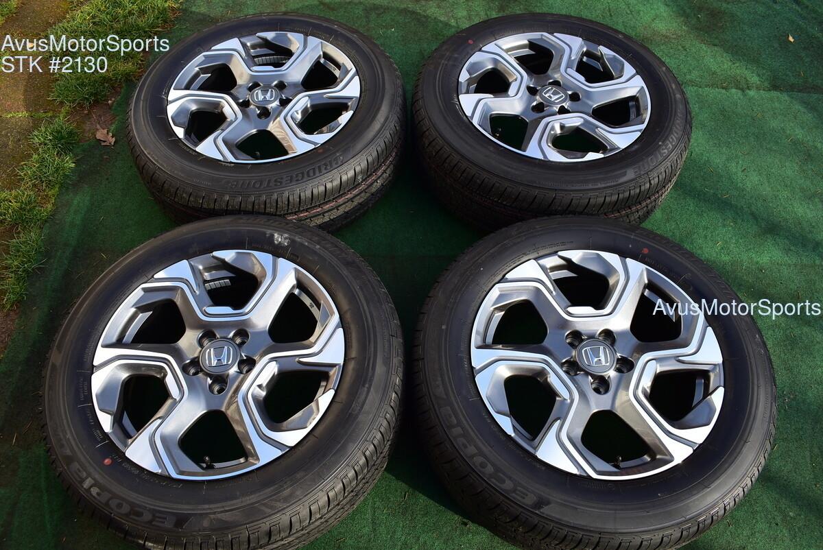 "18"" Honda CR-V EX EX-L OEM Factory Wheels 235/60R18 Tires 2017 2018 2019 CRV AWD"