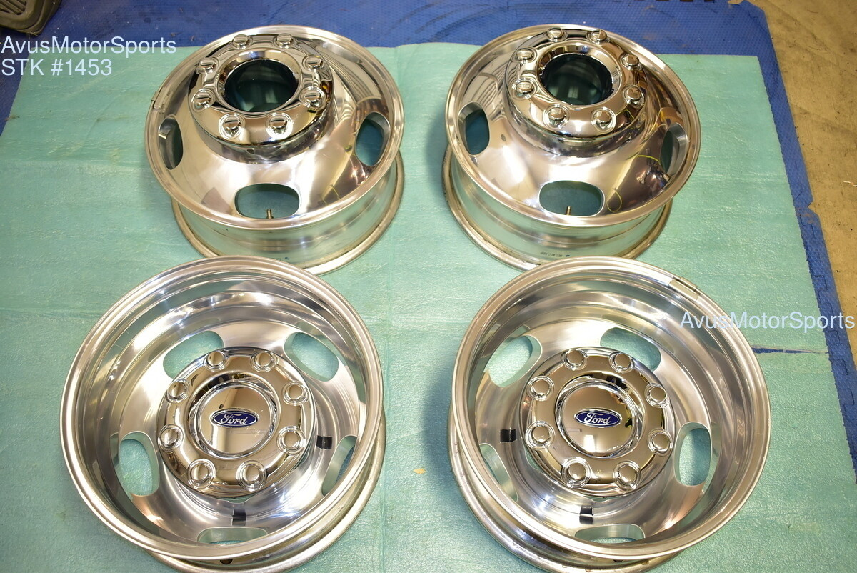 """17"""" Ford F350 Super Duty OEM Factory Alloy Wheels DRW Dually Stock 8x200"""