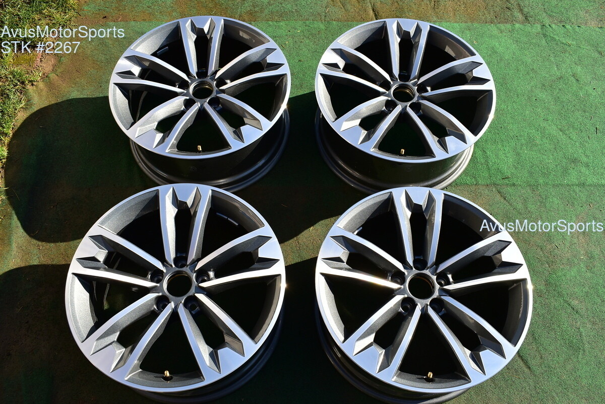 "18"" Audi A4 Allroad Factory OEM Wheels 2019 2018 2017 part# 8W9601025C"