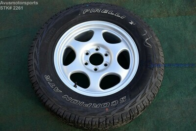 """18"""" Ford F150 Limited OEM Factory Spare Alloy Wheel Tire 2016 2017 HL34-1007-AA"""