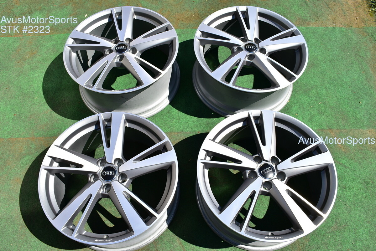 """19"""" Audi RS3 OEM Dynamic Package BBS Factory Wheels S3 Staggered 2019"""