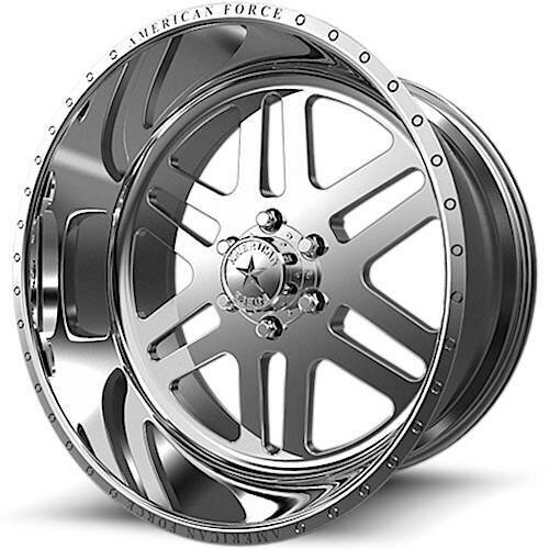 """20x10 American Force AFW9 Liberty SS Forged Wheels 20"""" Chevy ram 6x5.5 6x139 -25"""