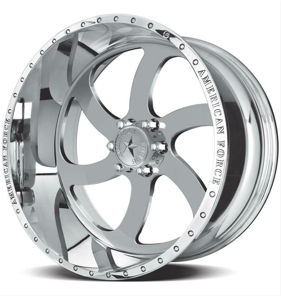 """22x12 American Force Blade SS Forged Wheels 22"""" Chevy ram 6x135 -40"""