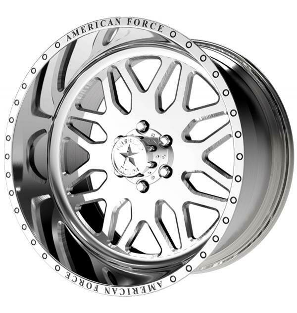 """22x10 American Force Trax SS Forged Wheels 22"""" Chevy ram 6x135 -25"""