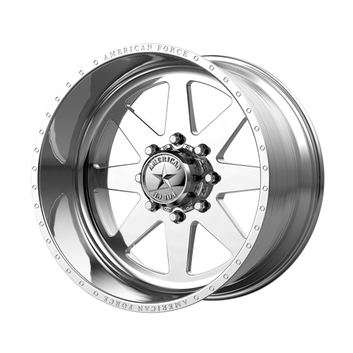 "24x14 American Force 11 Independence SS Forged Polished 24"" Wheels Ford F250 F350 8x170 -73"