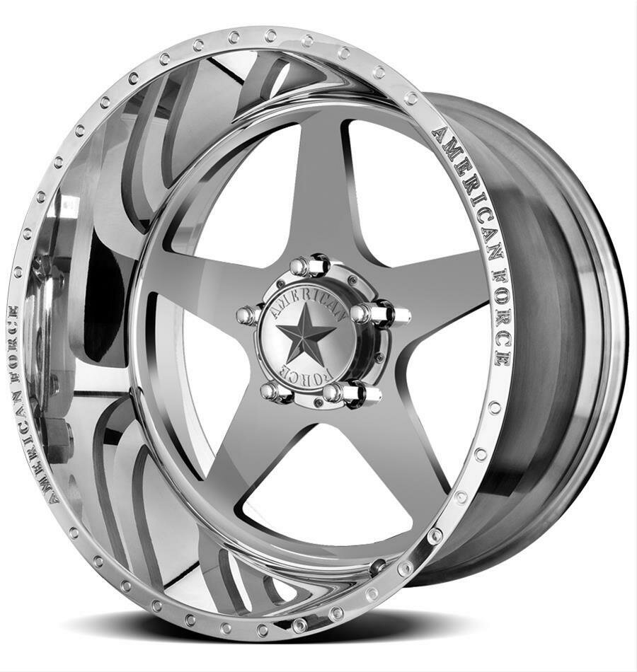 "20x10 Set of (5) American Force Independence Forged Wheels 20"" Jeep JK JL 5x5 5x127 -18"