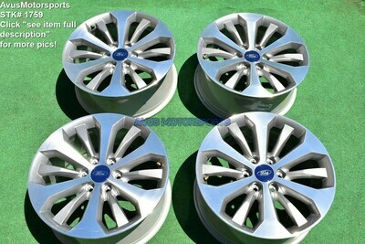 """20"""" Ford F150 OEM Factory Wheels Expedition Lariat STX FX4 2016 2017 2018"""