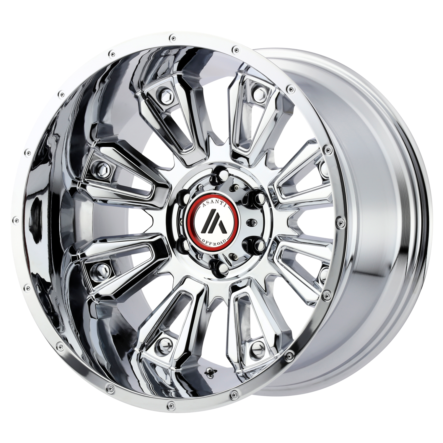 ASANTI OFF ROAD BLACKHAWK CHROME