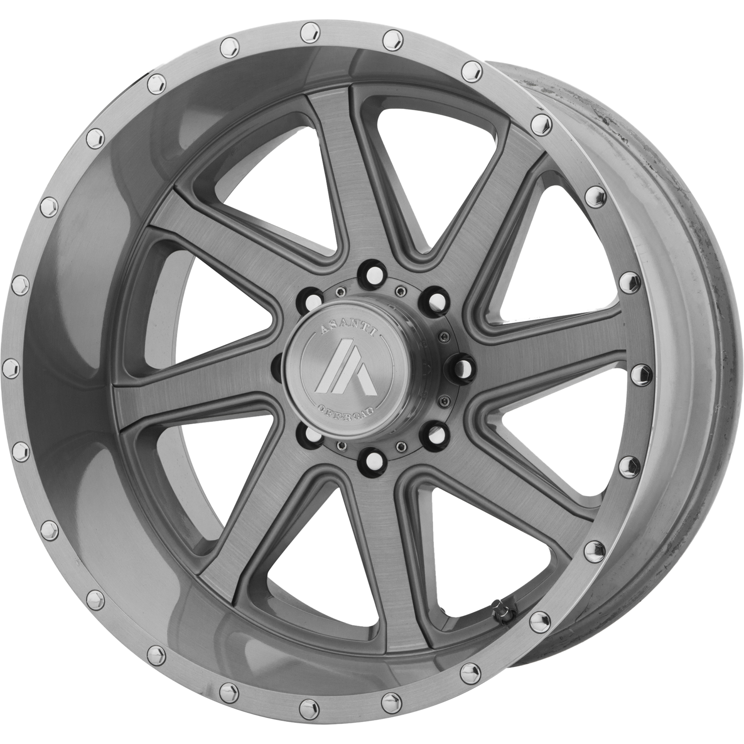 ASANTI OFF ROAD WINDMILL TITANIUM-BRUSHED
