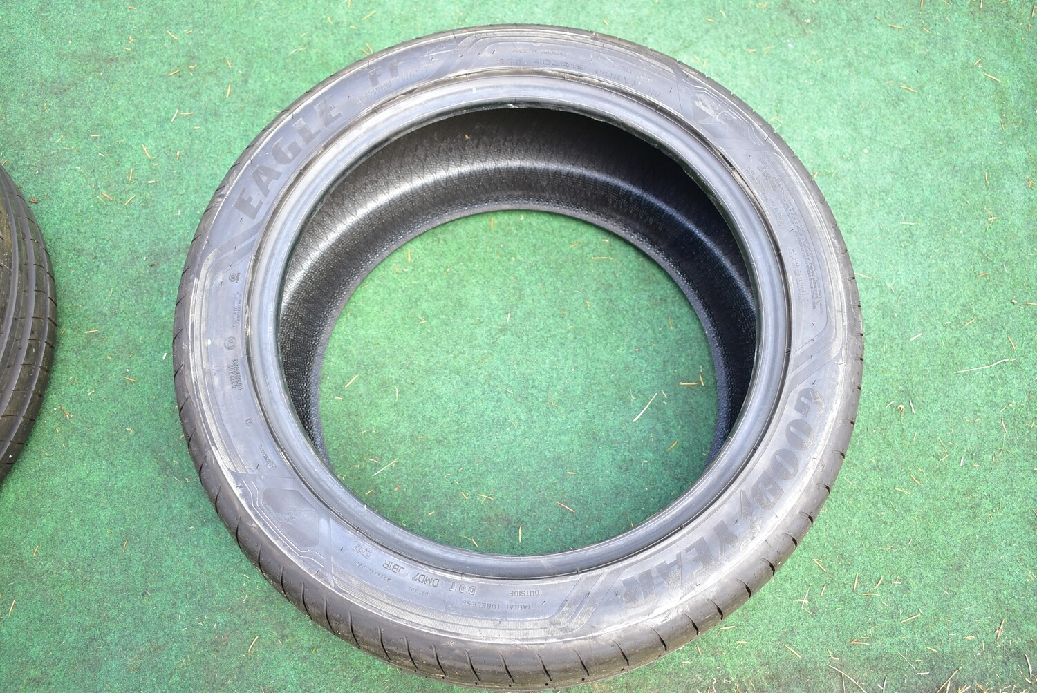Goodyear Eagle F1 295/40ZR19 Tire new take offs less than 1000 miles