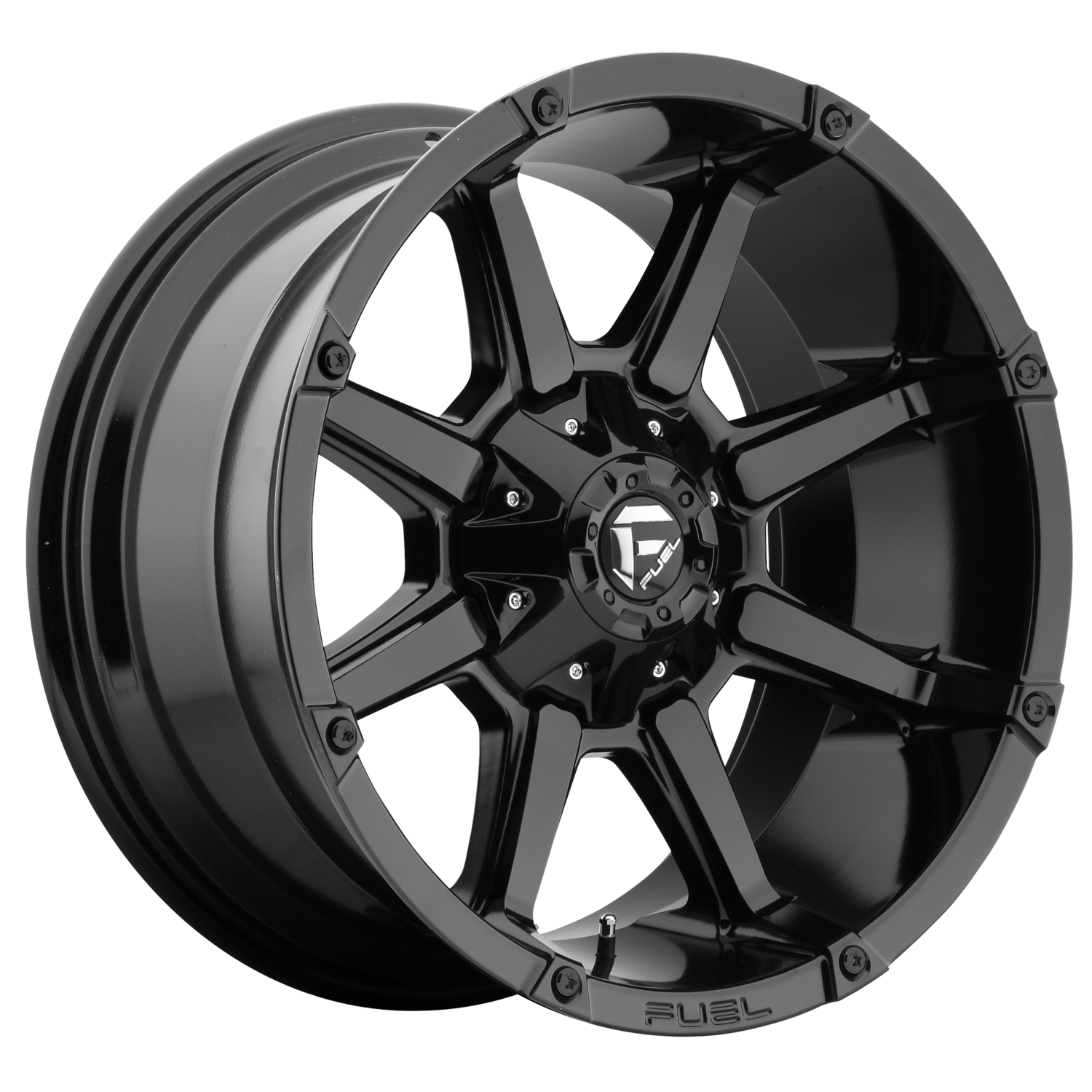 FUEL 1PC COUPLER GLOSS BLACK