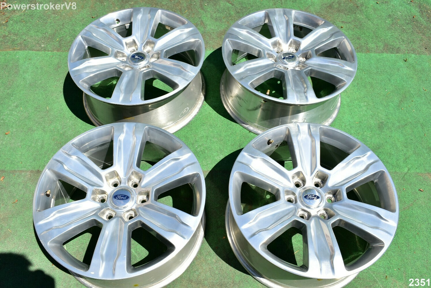 "20"" Ford F150 OEM Factory Platinum Polished Wheels Expedition"