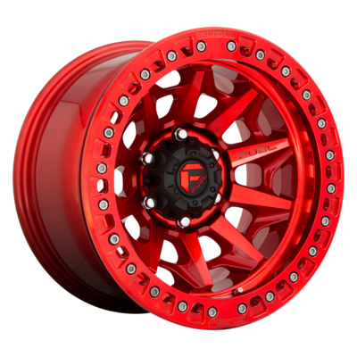 FUEL 1PC COVERT BL - OFF ROAD ONLY CANDY RED
