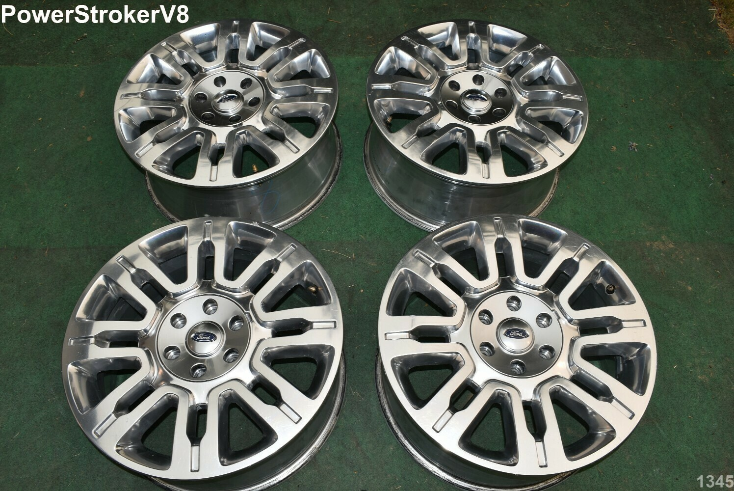 """20"""" Ford F150 OEM Factory Platinum Polished Wheels Expedition 2011 2010 2012"""