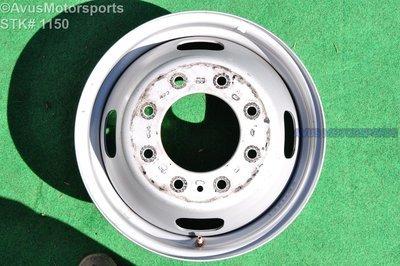 "17"" Ford F350 Super Duty OEM Factory Steel Wheel DRW Dually Stock 8x200 AC34-1015-WASL"