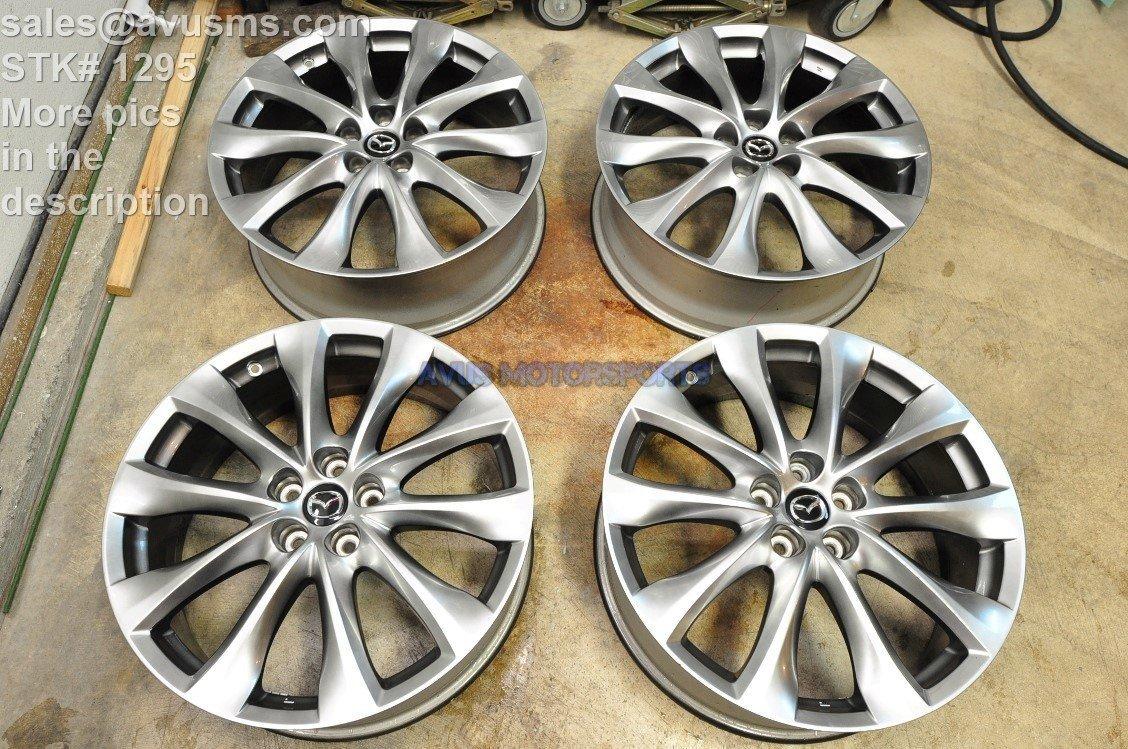 "Mazda CX-9 GT OEM 20"" Factory Wheels CX5 Mazda6 6 CX9 2014 2015"