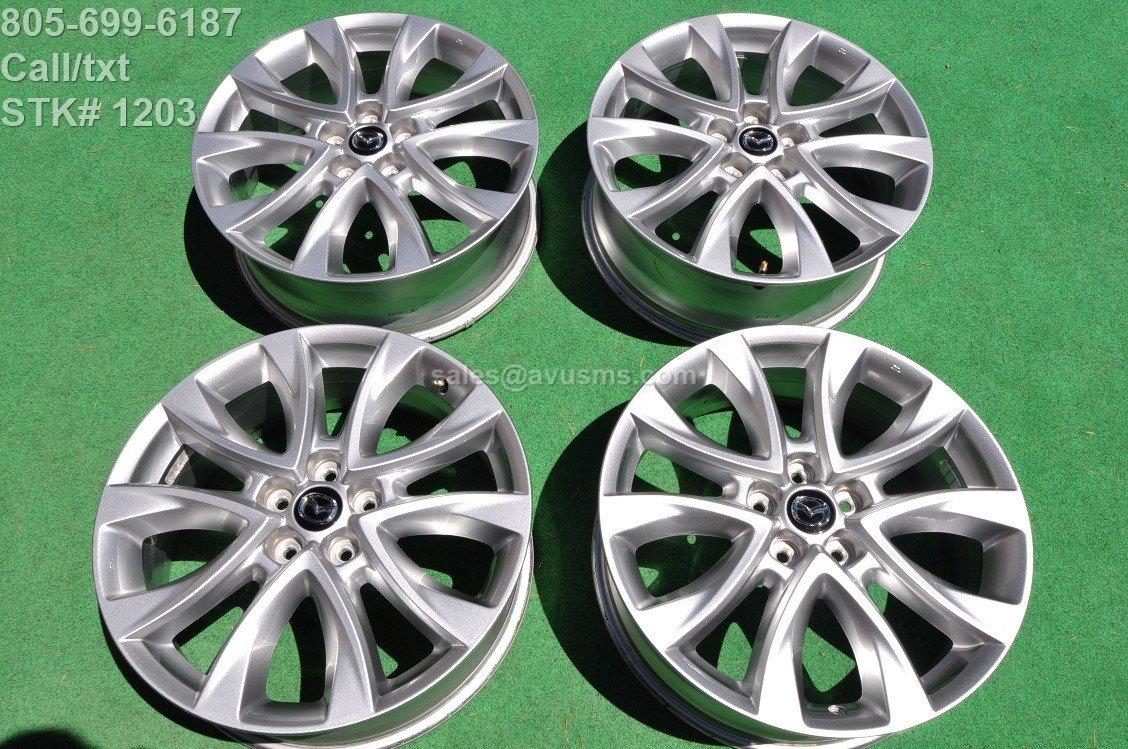 """2014 Mazda CX-5 OEM 19"""" Factory Wheels CX5 Mazda6 6"""